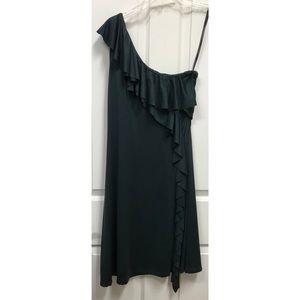 Marc New York, dark green, off shoulder Sz 6 dress